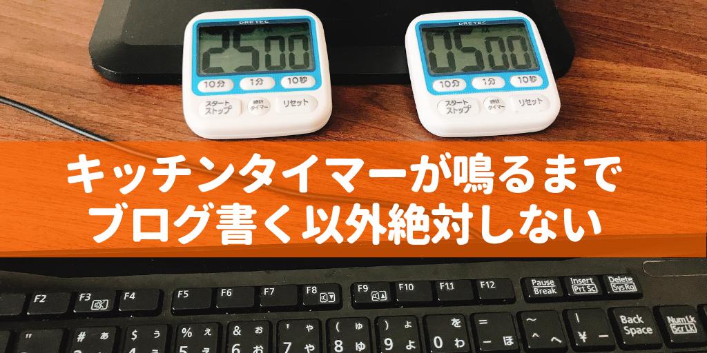 ブログ書くスピード画像