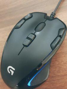 ロジクールG300sマウス評価レビュー(Logicool)