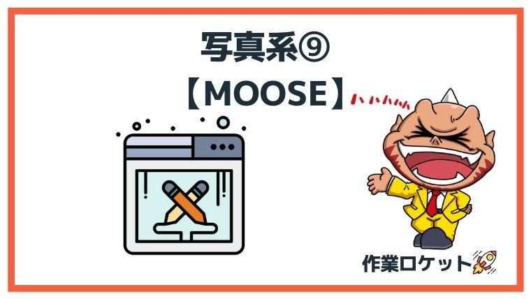 ブログフリー素材写真系⑨:MOOSE