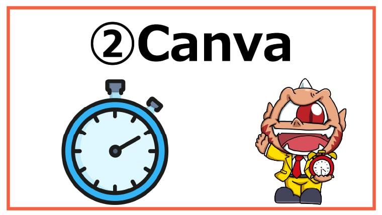 ②Canva