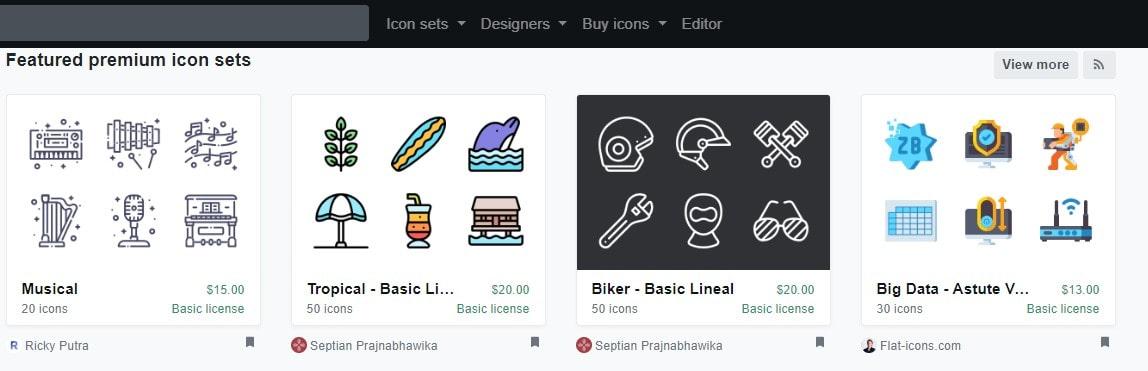 ③:icon-finder