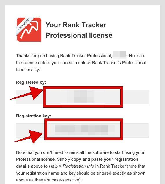 STEP4:メールで届く『登録キー』を確認
